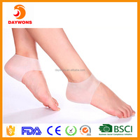 Plantar Fasciitis Shock Absorbing Silicone Gel Sleeve Breathable Protective Heel Air Support