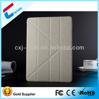 Alibaba express computer accessory for tablet pc case for iPad leather material