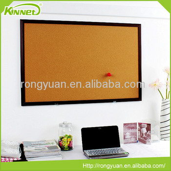 Best selling high quality office supply wall mounted cork board