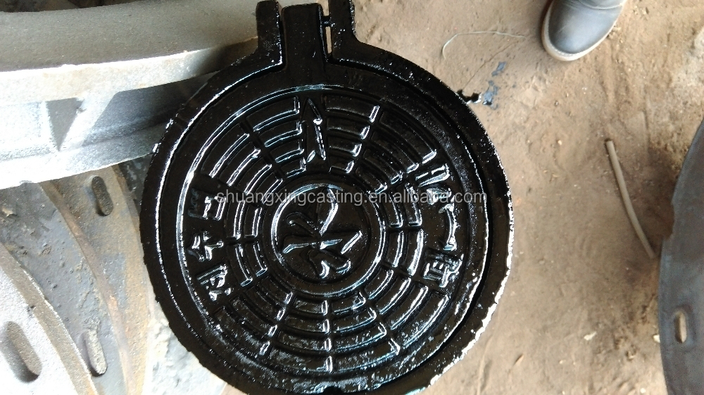 shock absorption electric power communication ductile cast <strong>iron</strong> manhole covers