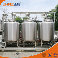 Automatic water / acid / alkali tank cip cleaning system