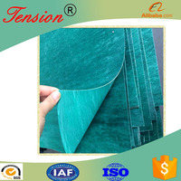 High-class free asbestos fiber jointing gasket material XB300 steam pipe gasket sheet in china