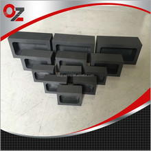 High pure graphite casting melting ingot mold for gold silver