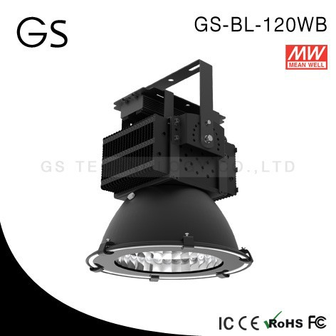 high quality copper heat sink waterproof 120w led high bay for hall