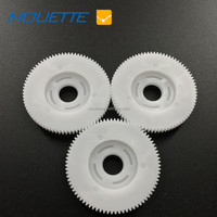 Large nylon plastic double spur gear/ plastic double gears