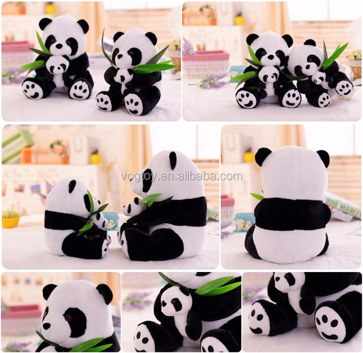 Wholesale Handmade Stuffed Animal Bear Pillow Fancy Lazy Laying Panda Custom Plush Toy - Buy ...