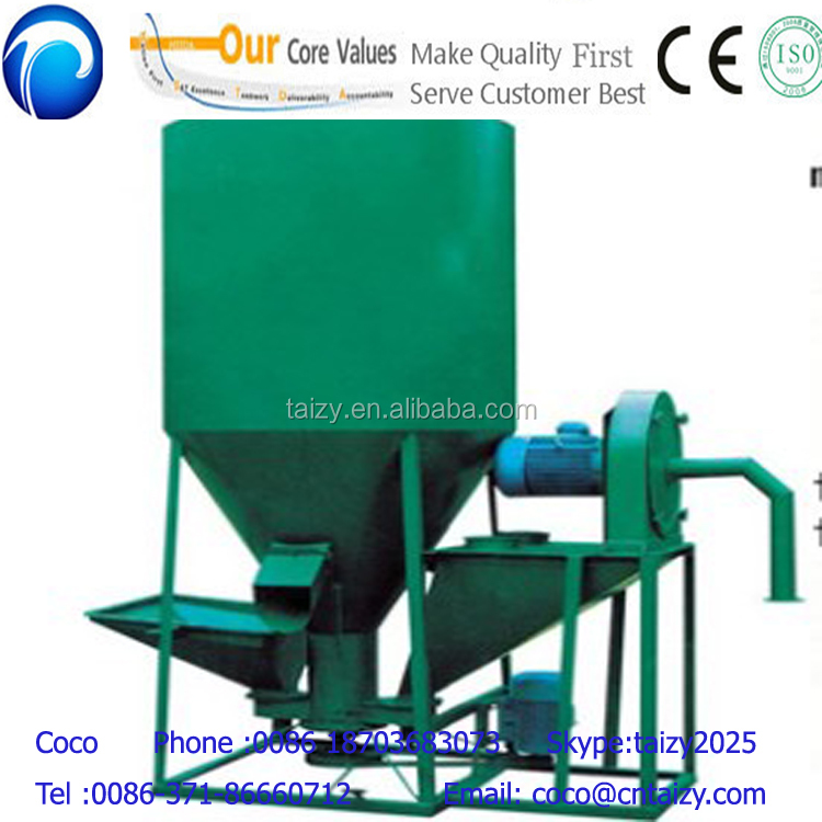 animal poultry livestock feed mixer/chicken feed mixing machine/electric feed mixer