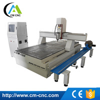 CM-1325 Wood 3D Carving Cutting Used AXYZ CNC Router With Rotary