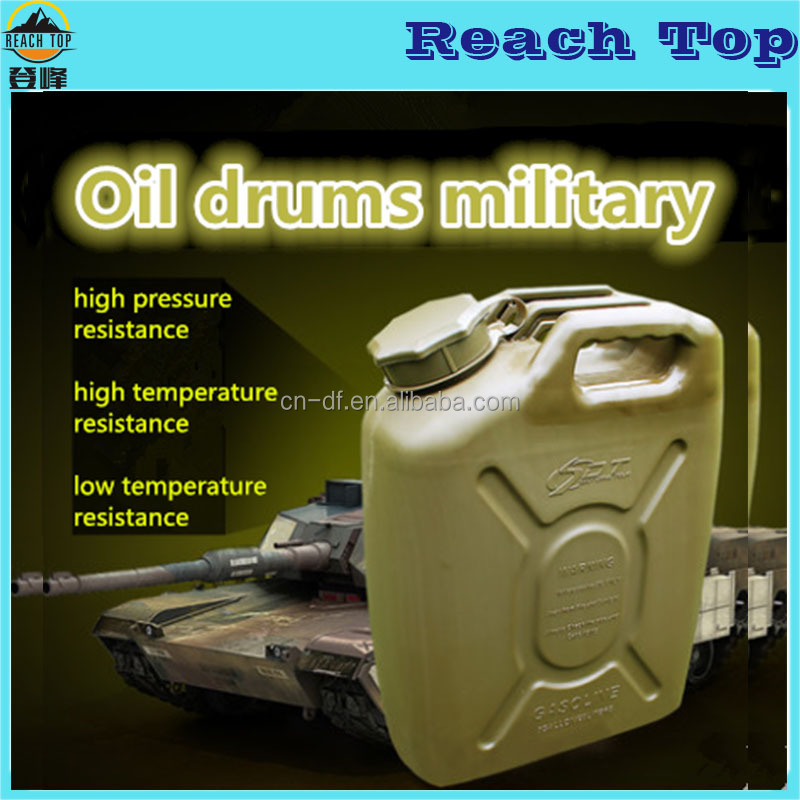 20L durable used oil drums/plastic oil drum/Jerry Can