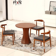 restaurant tables and chairs wooden round dining table office reception table set