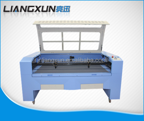 LX 1610E Double Heads Fabric Leather Cutting Machine