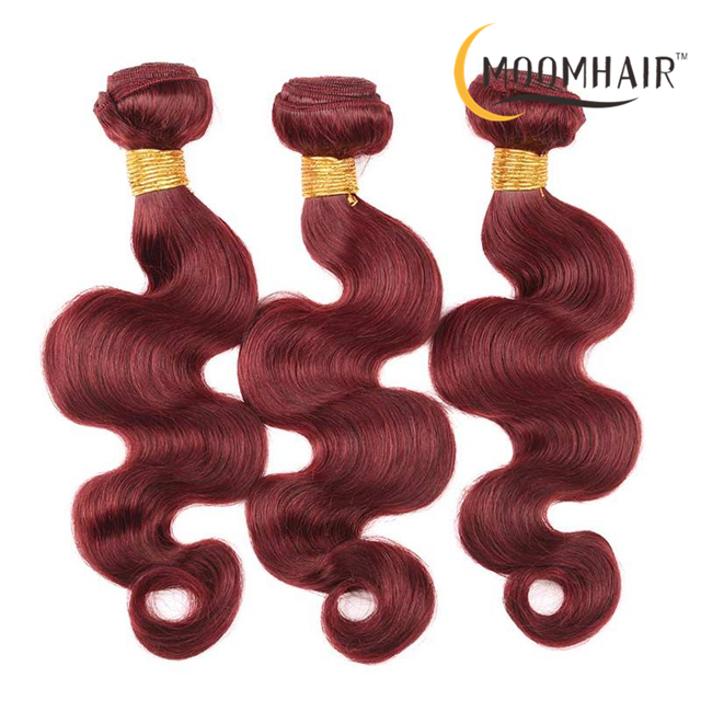 33# BODY Two Tone Ombre Brazilian Hair Weave Wet and Wavy Raw Human Hair Extensions Body Wave Color 33 Ombre