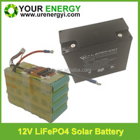 lithium ion /lifepo4 battery 12v 17ah for Wall Washer Lights 12v rechargeable battery