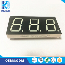 2017 China FND cutomized 0.8 inch 3 digit 7 segment 3 digit led numeric display counter