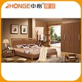 Modern design wood Hand carved bedroom furniture sets 6109#