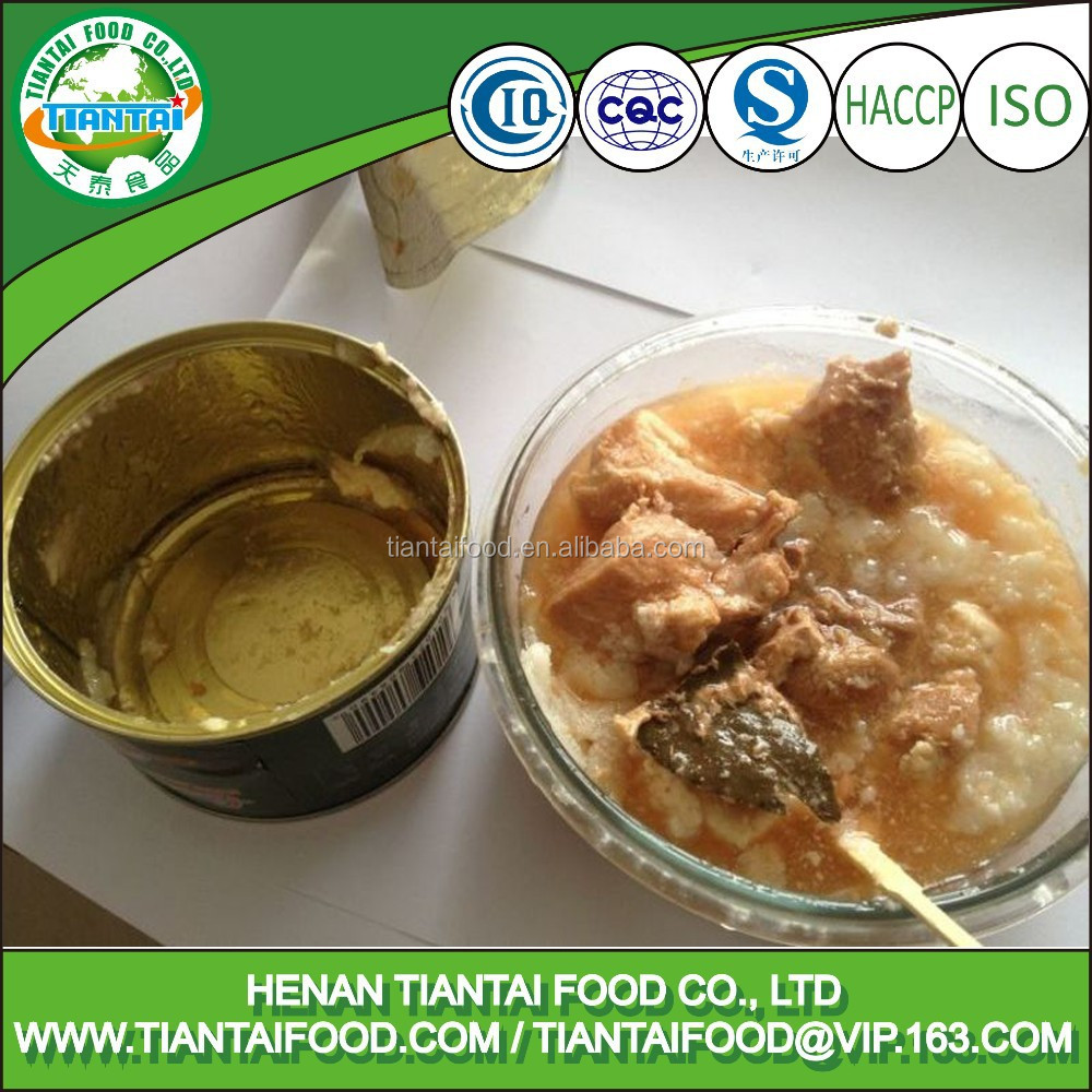 canned steamed pork great quality