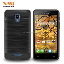 For ALCATEL One Touch fierce4 case free sample TPU PC 2 in 1 mobile phone accessories
