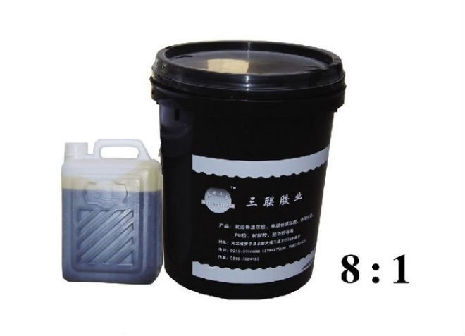 two component foam adhesive,curing bonding for filter