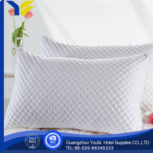 high quality 100% silk fashion cheap flocked filled pillow