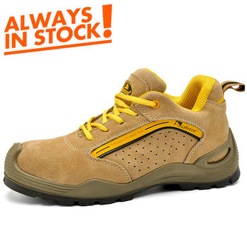 2019 High Quality boots Brand Name Steel Toe work men Safety Shoes