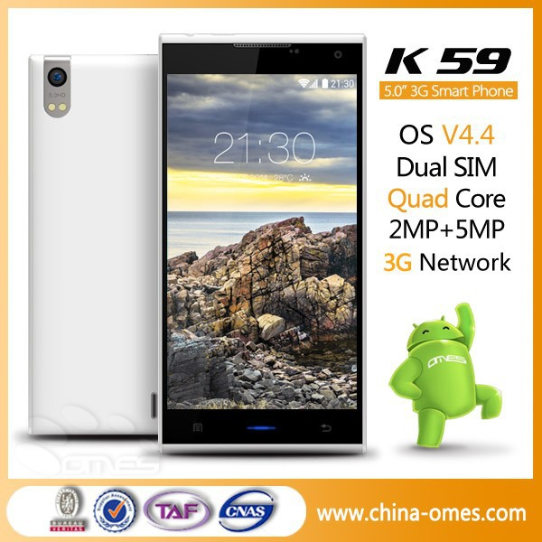 world best selling products OMES 5 inch 5inch Super Slim Quad Core HD IPS K59 import cellphones from china
