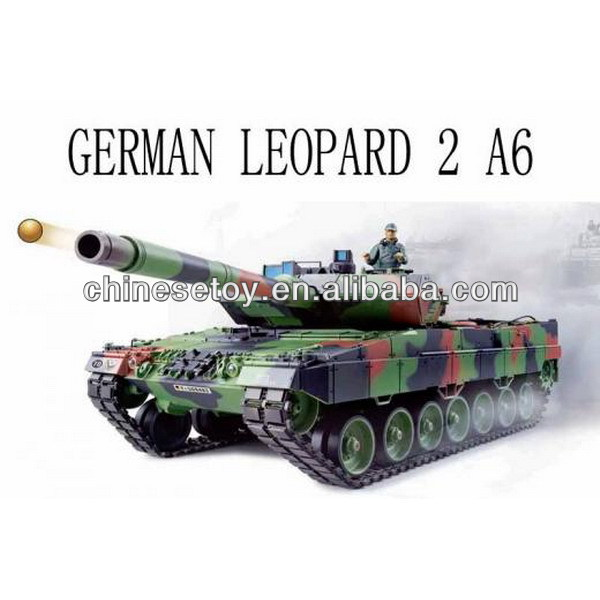 2.4Ghz 1:16 R/C Tank German Leopard 2 A6