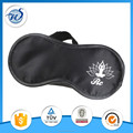 Soft size adjustable eye mask silk material eyeshade skin care sleeping mask