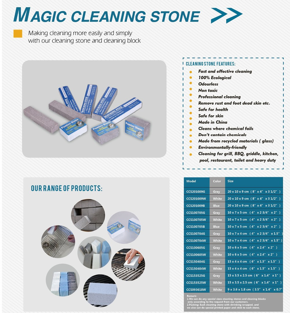 easy cleaning stone in kitchen