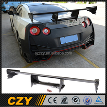 GTR R35 Automotive GT Racing Carbon Fiber Car Trunk Spoiler for Nissa n 09UP