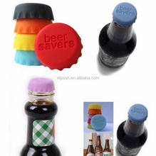 Silica Gel Colored Beer Savers Wine Stopper Flattened Bottle Caps