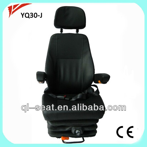 Luxury Auto suspension driver special turning seat with foot plate