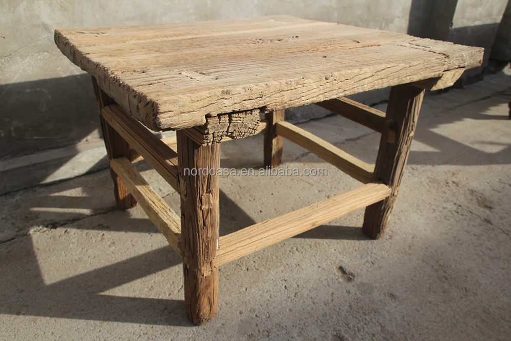 rustic reclaimed unfinished wood furniture wholesale table