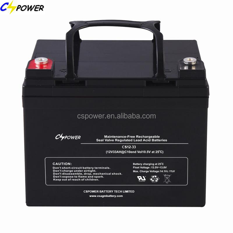deep cycle agm battery 12v 35ah for ups home solar system