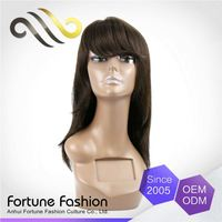 Specialized 100% Warranty No Shedding No Tangle Fiber Temperature High Quality Silk Injection Lace Wigs