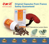 Health Care supplement for Lung and Kidney Organic Gold Ganoderma Spore Capsule