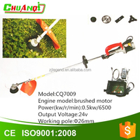 24v battery brushed motor electric lawn mower