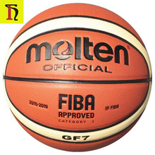 GG7 GF7 GM7 PU Leather basketball size 7 size 6 size 5 custom brand Molten basketball ball