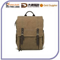 2015 fashion waxed canvas camera bag