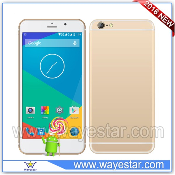 2016 Mobile Phone 6 inch quad core low price cell phone manufacturer china