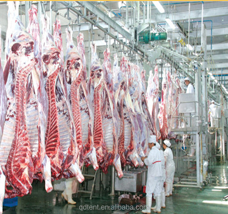 Meat processing slaughter house equipment for cow slaughter line