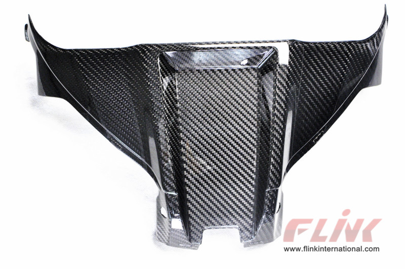 Carbon Fiber Gas Tank Cover Cockpit Cover for 2016 Kawasaki ZX10R ZX10 Ninja OEM 2017