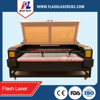auto feeding laser engraver cutter price/fabric laser cutting engraving machine with auto feeding system