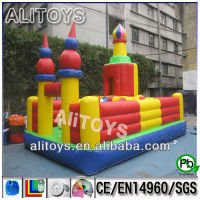 {Alitoys}inflatable outdoor playground/ inflatable fun city for rentals