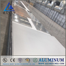 hot sale red heat resistance natural anodized hairline aluminum sheet