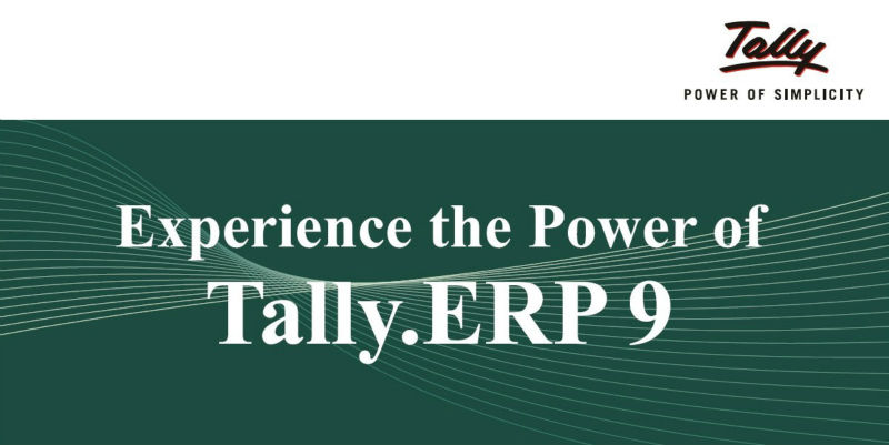 Tally ERP 9 Accounting & Inventory Software
