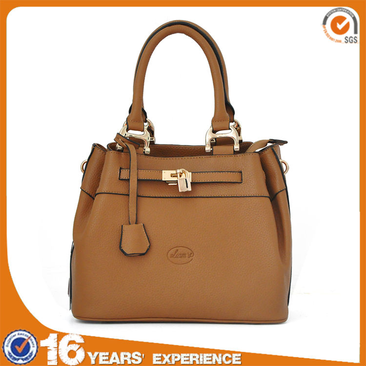 Liams factory direct supply western fashion 100% genuine leather brown <strong>handbag</strong>