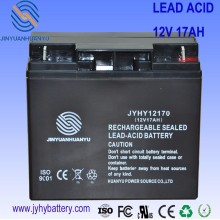 Rechargeable battery for solar and wind generator system,Deep Cycle Maintenance Free Solar Battery,12v 17ah battery
