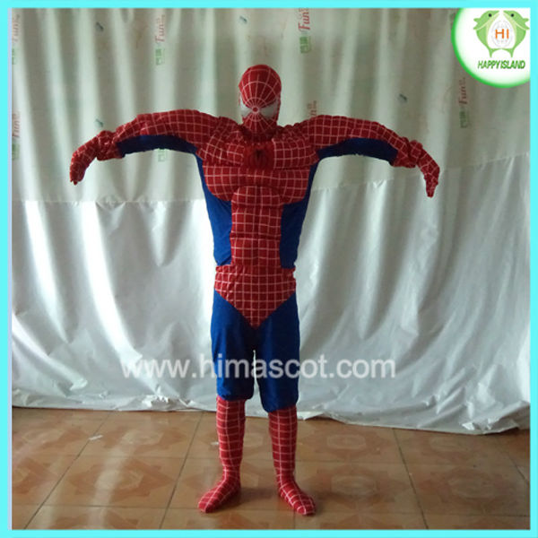 HI 2013 spiderman mascot costume