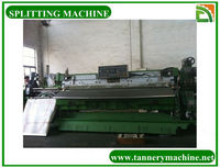 leather tannery machine leather splitter machine