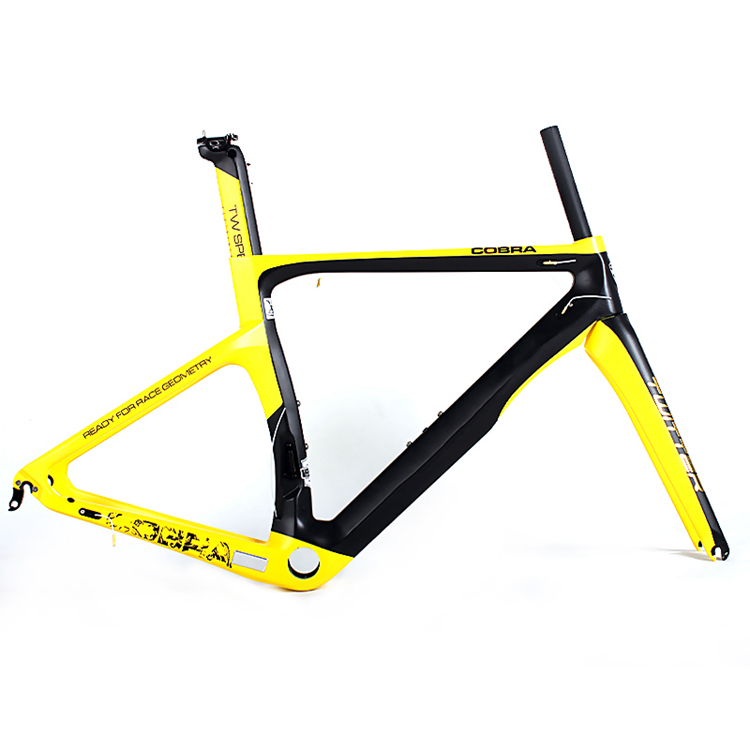 2017 hot new products Chinese supplier t1000 full carbon road bike frame